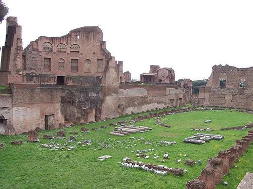 el Palatino en Roma