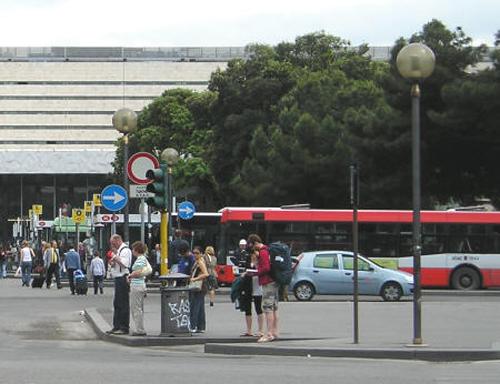 estacion termini en Roma