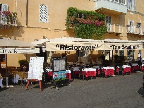 Tre Scalini, el bar más famoso de Piazza Navona
