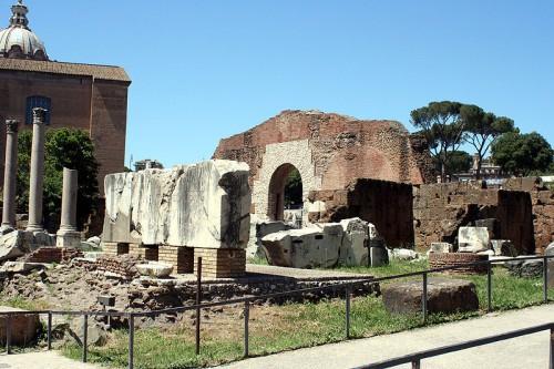 La Basílica Emilia del Foro Romano