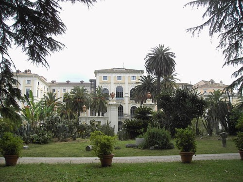 Palacio Corsini, arte y ciencia en Roma