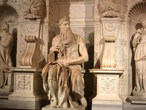 Admirar el Moisés de Miguel Ángel