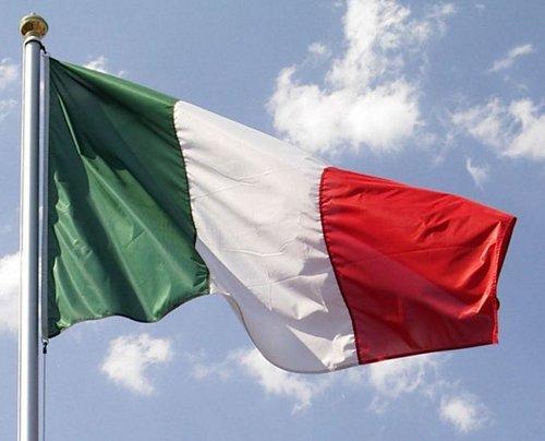 Los orígenes de la bandera italiana