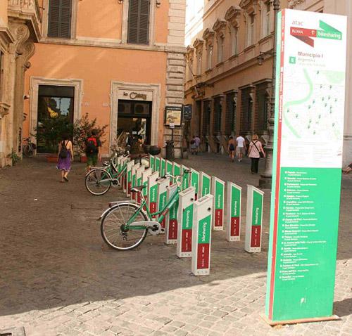 Alquiler de bicis en Roma