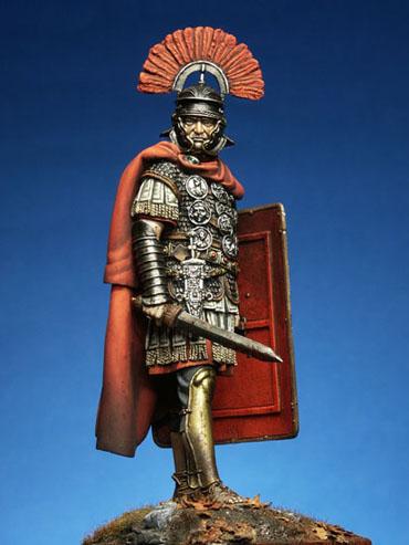 El centurión romano, personaje histórico