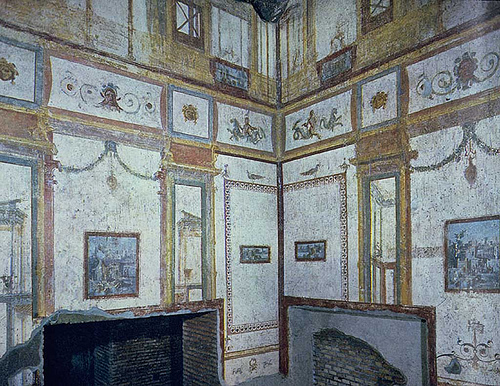 Domus aurea el lujoso palacio de ner n for Ancient roman interior decoration
