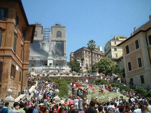 Mostra delle Azalee, primavera en Roma