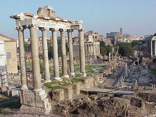 Primer día en Roma