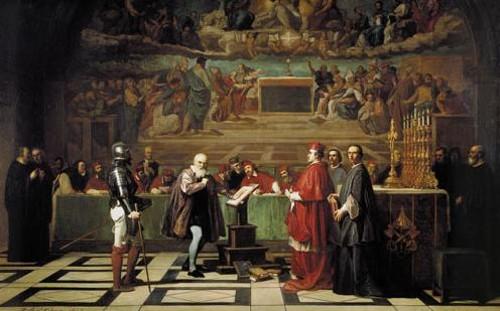 Galileo ante el tribunal de la Santa Inquisición