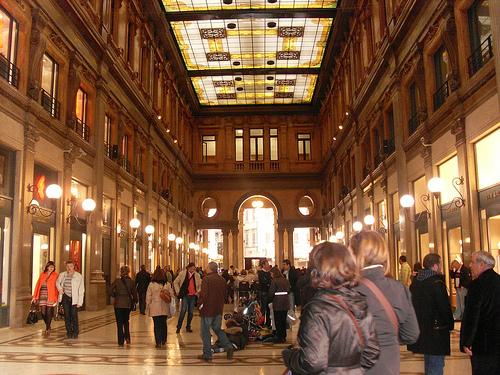 Un paseo por la Galleria Alberto Sordi