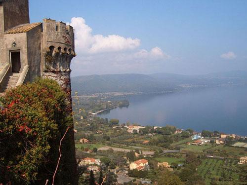 Descanso a orillas del Lago Bracciano