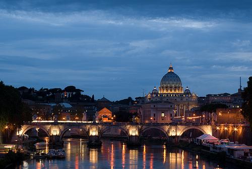 Navegar por el Rio Tiber