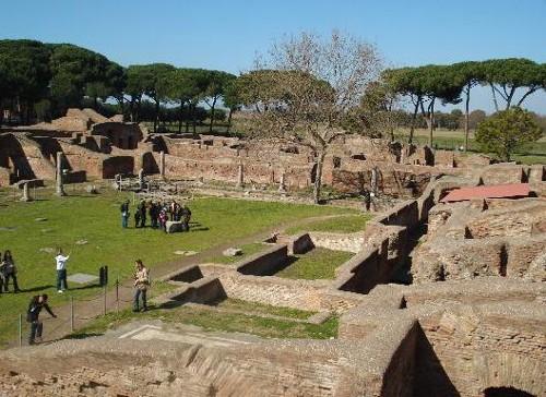 Ostia Antica, arqueología en el viejo puerto de Roma