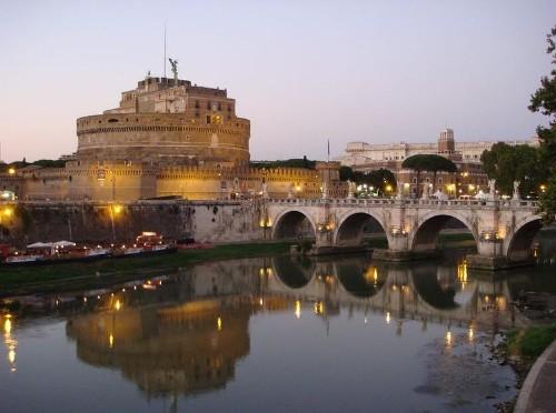 El puente de Sant'Angelo: un lugar idílico sobre el Tíber