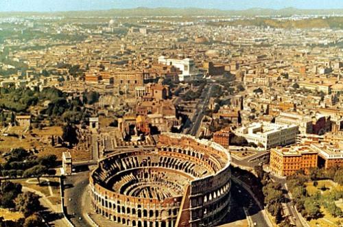 Plano y callejero de Roma