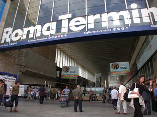 La Estación Termini, corazón de la ciudad