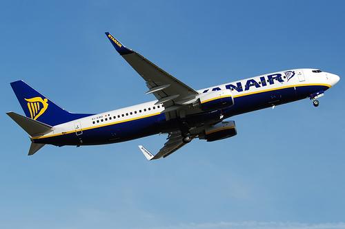 Vuelos de Valencia a Roma con Ryanair