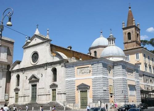 La iglesia Santa Maria del Popolo