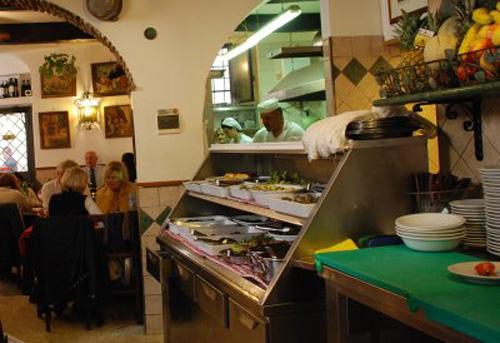 Cucina romana, las trattorias