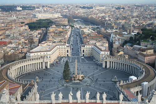 El Vaticano, 44 hectáreas de historia y arte