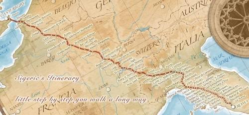 La Via Francigena, una ruta de peregrinación a Roma