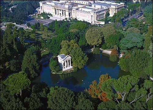 Villa Borghese, parque público en Roma