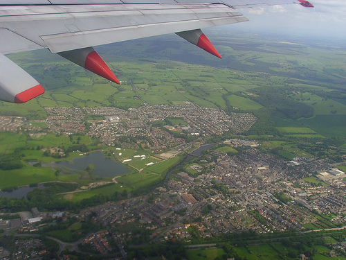 volar sobre roma